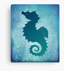 Seahorse of a Different Color ~ Marine Life Canvas Print
