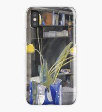 Vintage yellow art - Charles Rennie Mackintosh  - Yellow Tulips iPhone Case/Skin