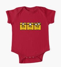 Yellow Banana Periodic Table One Piece - Short Sleeve