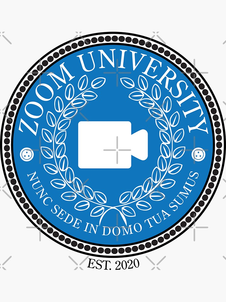 Zoom University, Established 2020 (Color) by brainthought