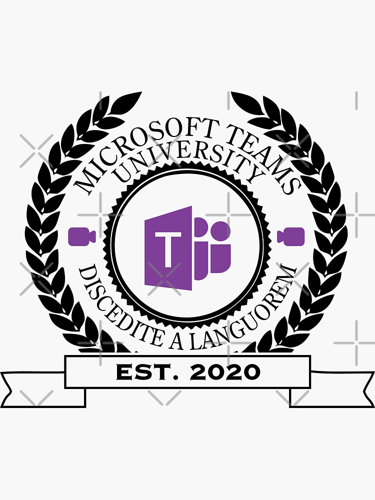 Microsoft Teams University, Established 2020 (Color) by brainthought