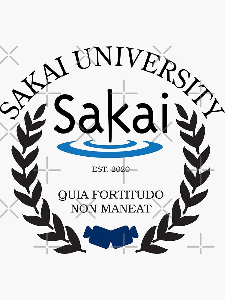 Sakai University, Established 2020 (Color) by brainthought