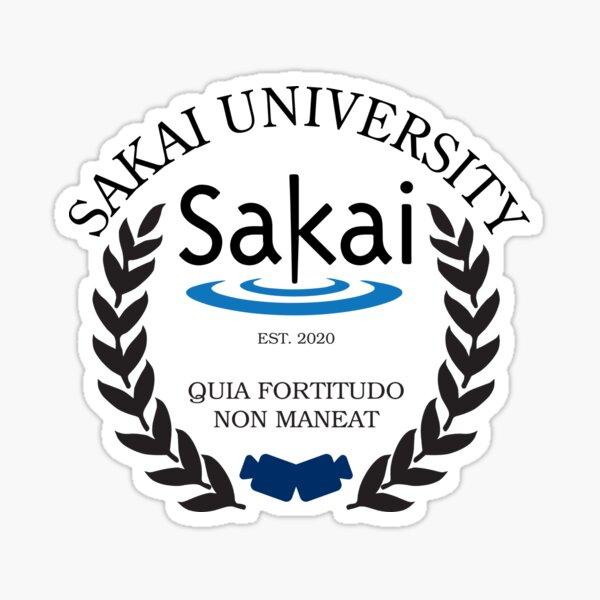 Sakai University, Established 2020 (Color) Sticker
