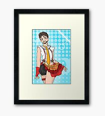 Tony Stark Crossdressing Framed Print