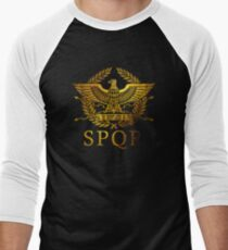 SPQR Rome  Men's Baseball ¾ T-Shirt