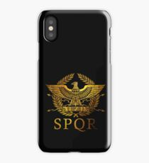 SPQR Rome  iPhone Case