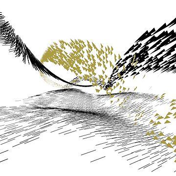 Golden Birds by f-zimba