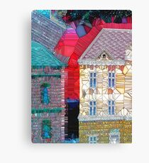 Welcome to the Neighborhood Canvas Print