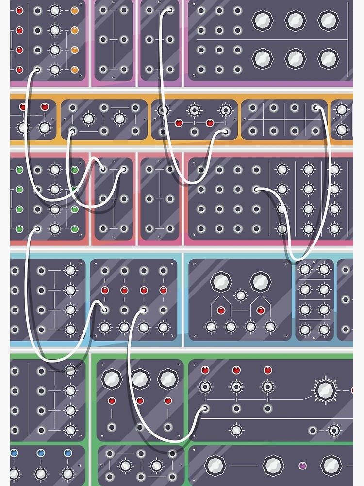 MODULAR SYNTH by synthshirts