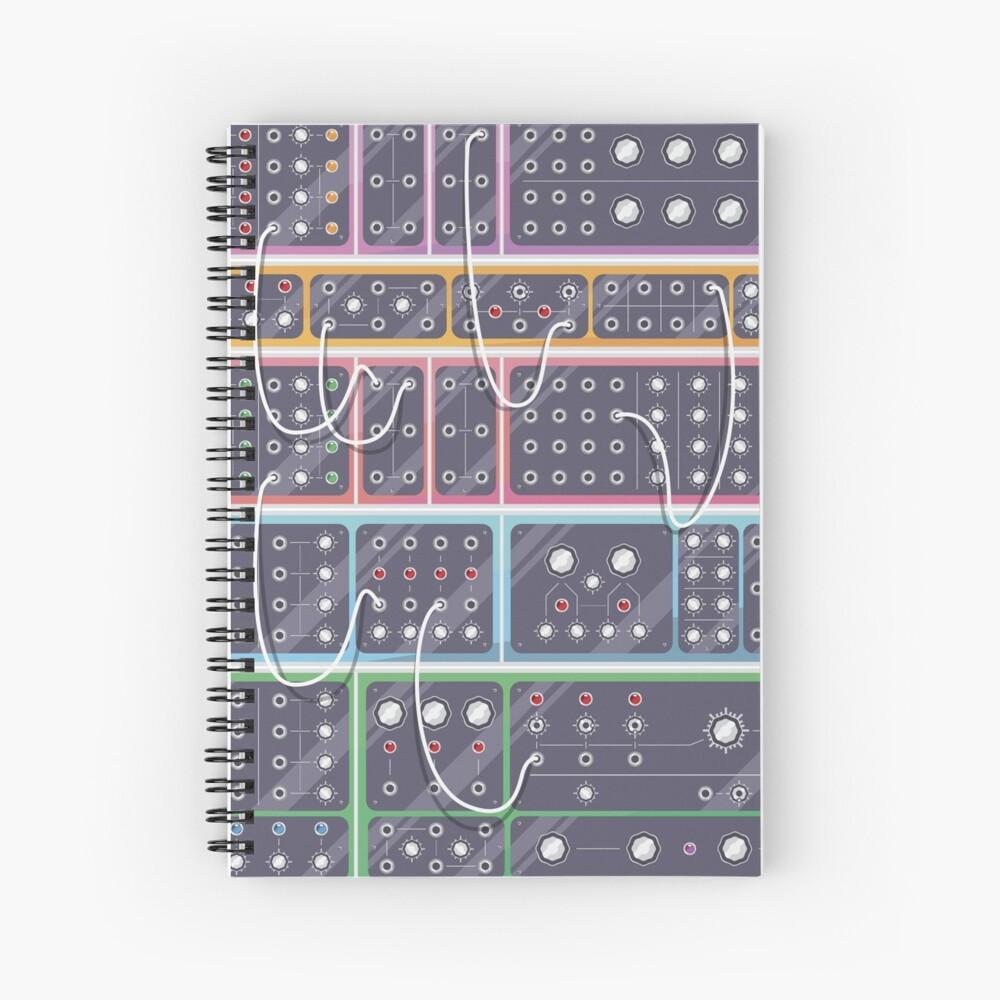 MODULAR SYNTH Spiral Notebook