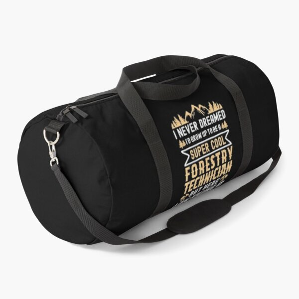 Super Cool Gift For Forestry Technician - Version 2 Duffle Bag
