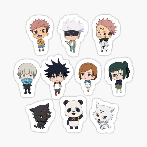 Jujutsu Kaisen Pack Stickers Sticker