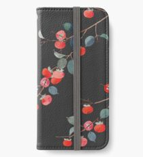 Persimmon Harvest iPhone Wallet/Case/Skin