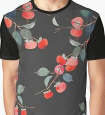 Persimmon Harvest Graphic T-Shirt