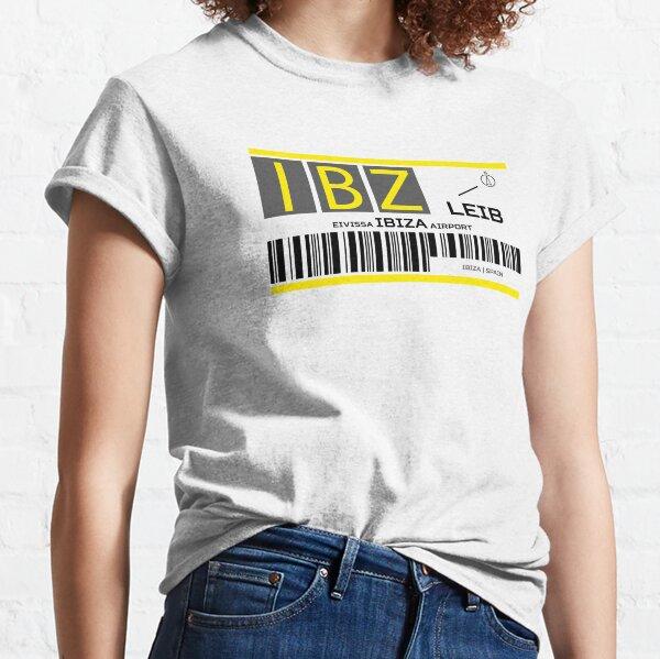 Destination Ibiza Airport Classic T-Shirt