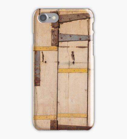 Yellow door, Cochin iPhone Case/Skin