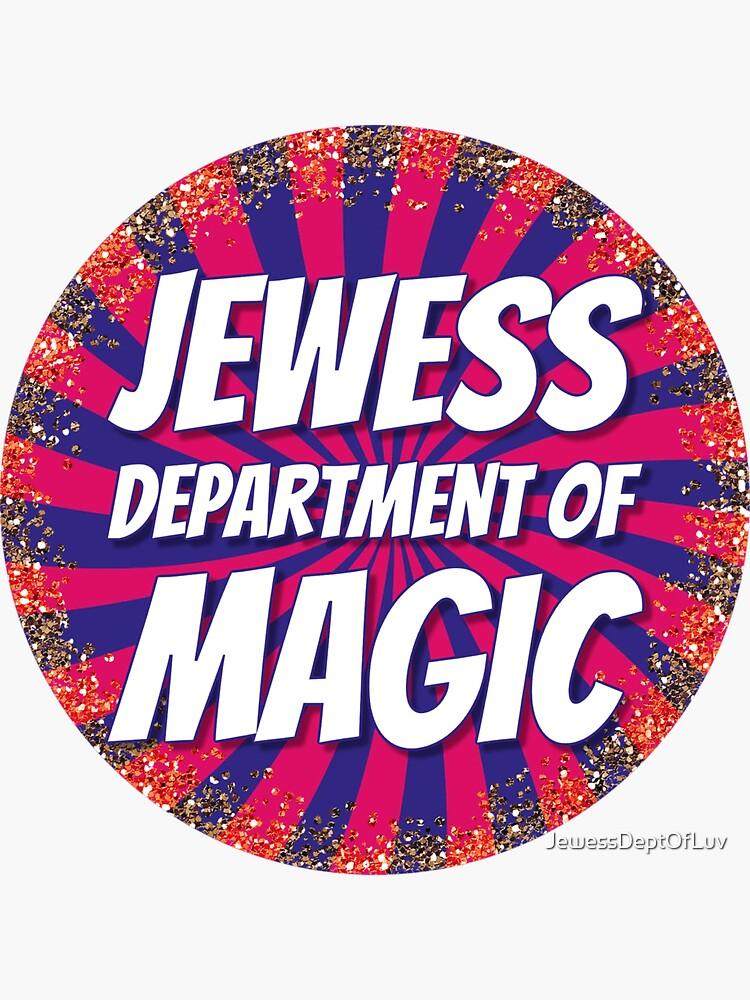Jewess Department of Magic [round logo] by JewessDeptOfLuv