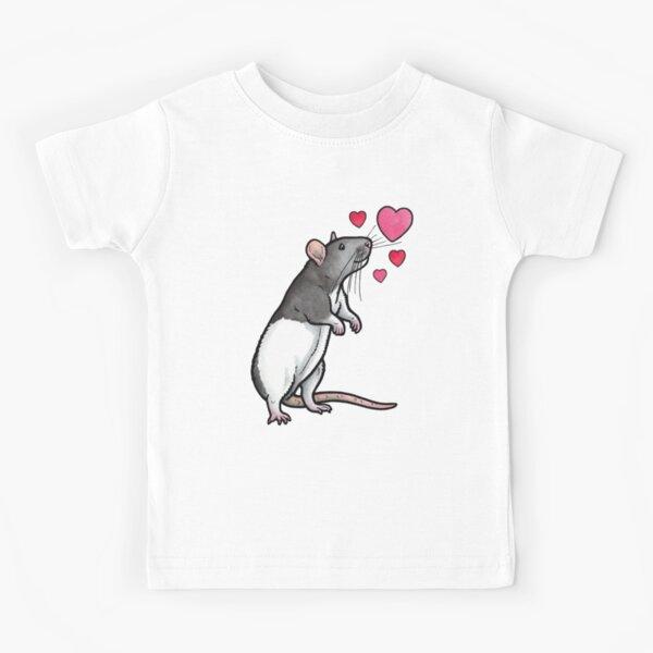 Hooded rat love (topear) Kids T-Shirt