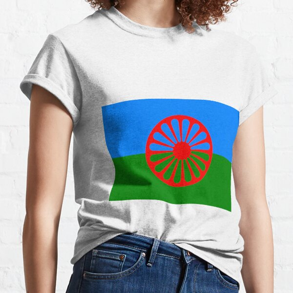 Flag of the Romani people Classic T-Shirt