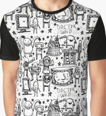 Doctor Who doodle Graphic T-Shirt