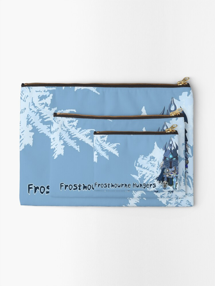 Alternate view of Frostmourne Hungers Zipper Pouch