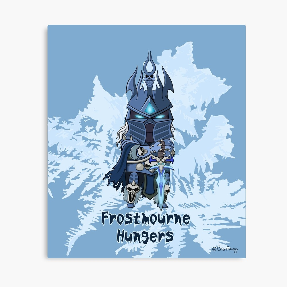 Frostmourne Hungers Canvas Print