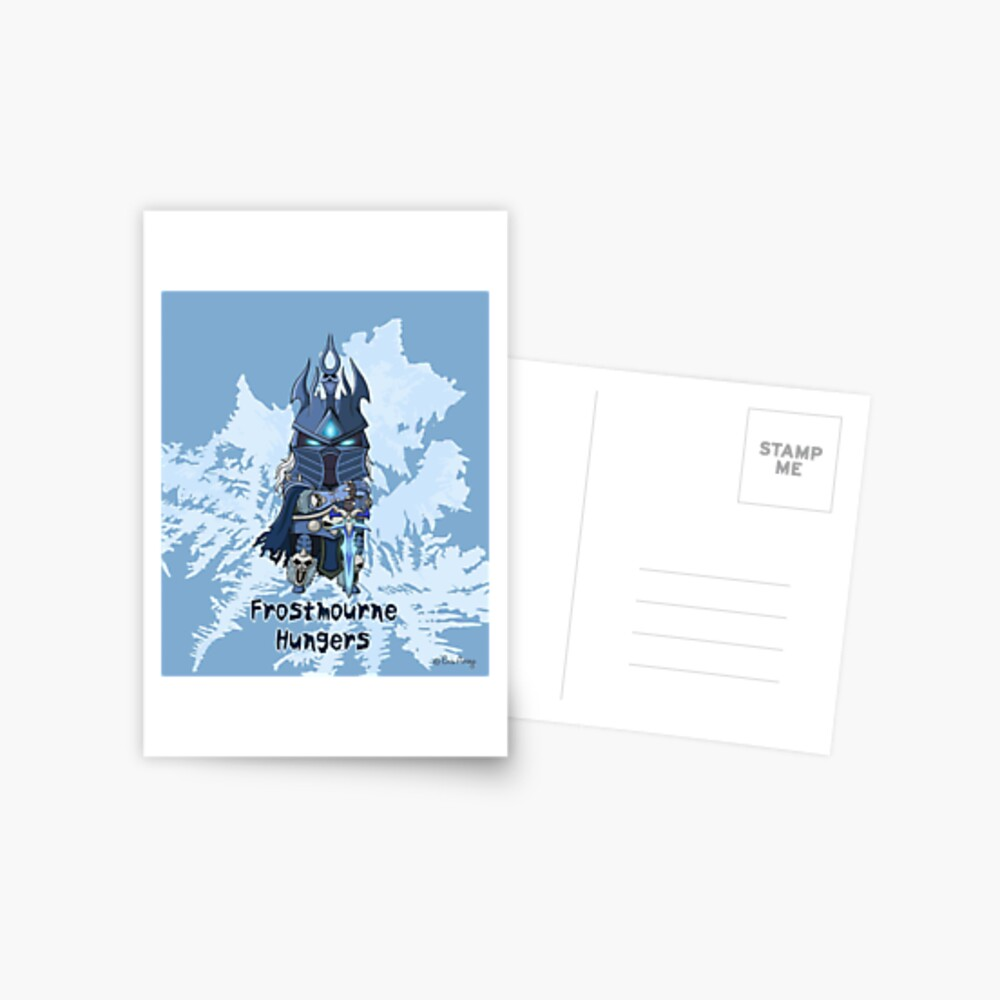 Frostmourne Hungers Postcard