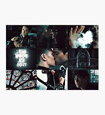 Malec - Shadowhunters  Photographic Print