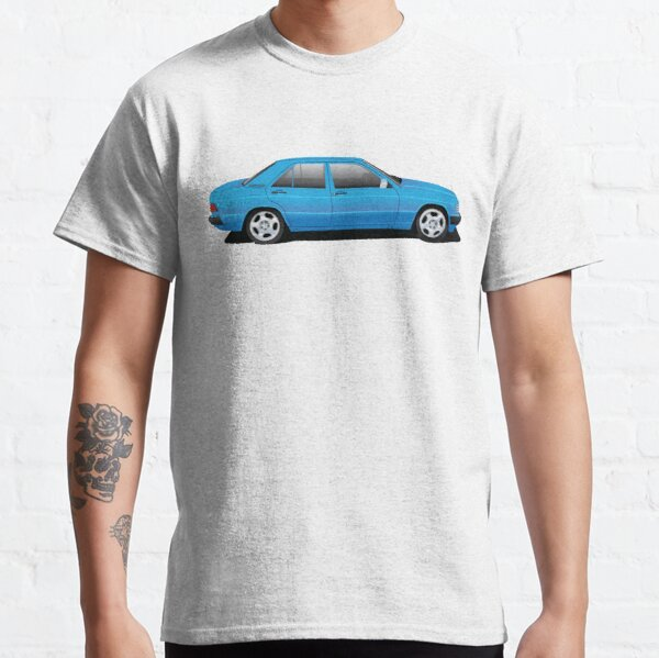 Mercedes Benz 190 (W201) Illustration Classic T-Shirt