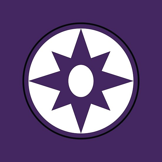 Star Sapphire Symbol Posters By Candywrap Design Redbubble