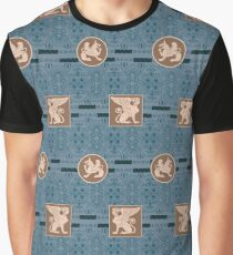 Greek ornament seamless background. Antique style design Graphic T-Shirt