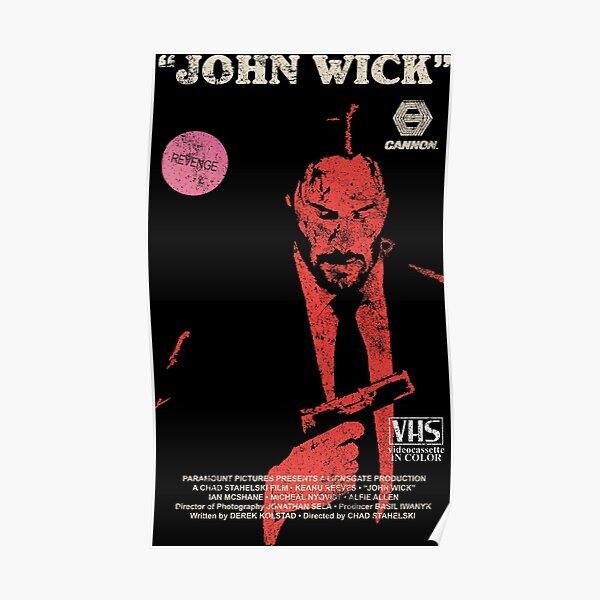 John Wick VHS Póster