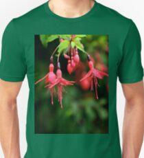 Fuchsia Hedge at Loch Na Fooey 3 Unisex T-Shirt