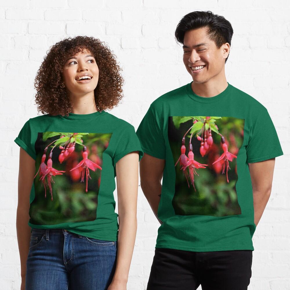 Fuchsia Hedge at Loch Na Fooey 3 Classic T-Shirt