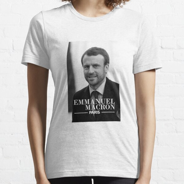 "Emmanuel Macron Costard ""Paris"" - #ourshirtpourmacron T-shirt essentiel"