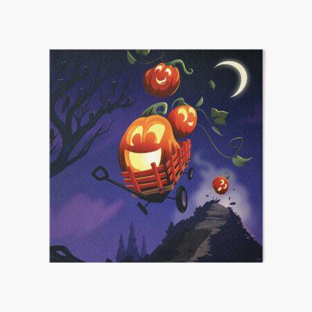 Pumpkin Joyride Art Board Print