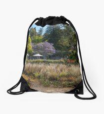 Botanical Springtime Drawstring Bag