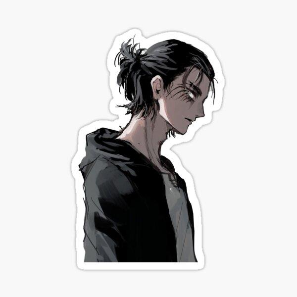 Titan Eren Yeager Sticker Sticker
