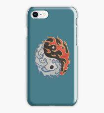 Yin&Yang, Fire&Water iPhone Case/Skin