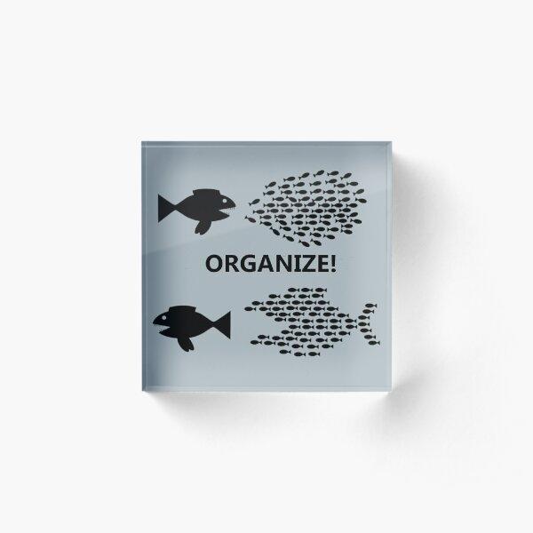 Organize! Fish Acrylic Block