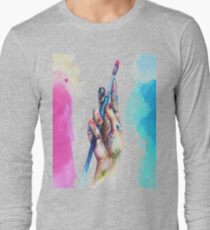 Painter's Hand Long Sleeve T-Shirt
