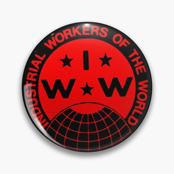 Industrial Workers of the World (IWW) Logo Pin