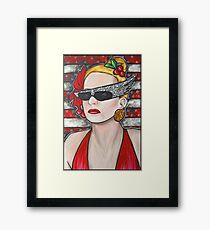 Joanna Stayton - Overboard - Goldie Hawn  Framed Print