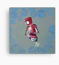 Robot Flash Canvas Print