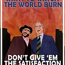 Vote Remain - EU Referendum Propaganda Poster by loudribs