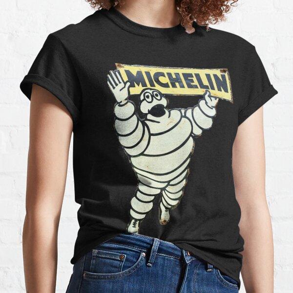 Signe de l'homme Michelin rétro T-shirt classique