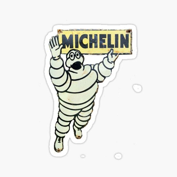 Signo de hombre retro Michelin Pegatina