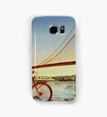 Bicycle In San Francisco Samsung Galaxy Case/Skin