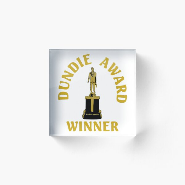 The Office: Dundie Award Winner Acrylic Block