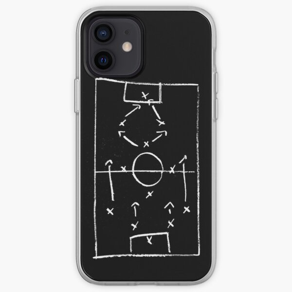 Football (Soccer) - Tactics Time iPhone Soft Case